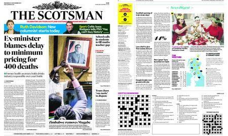 The Scotsman – November 22, 2017