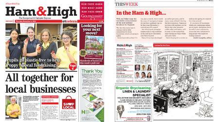 Ham & High – November 05, 2020