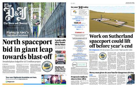 The Press and Journal Moray – February 12, 2020