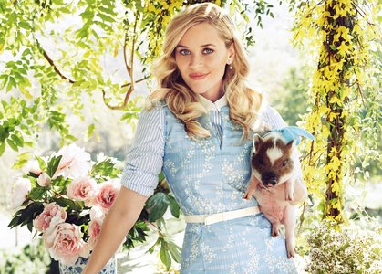 Reese Witherspoon by Alexi Lubomirski for Harper's Bazaar February 2016