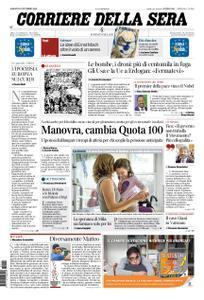 Corriere della Sera – 12 ottobre 2019