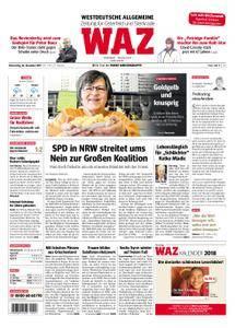 WAZ Westdeutsche Allgemeine Zeitung Oberhausen-Sterkrade - 23. November 2017