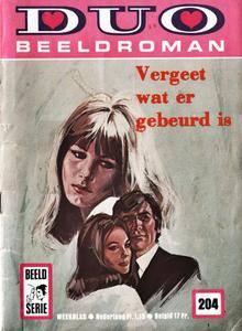 Duo Beeldroman - 204 - Vergeet Wat Er Gebeurd Is