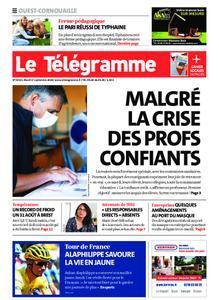 Le Télégramme Ouest Cornouaille – 01 septembre 2020