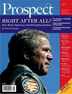 Prospect Magazine - August 2008