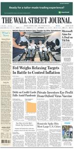 The Wall Street Journal – 03 August 2020