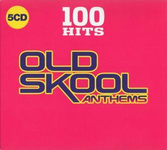 VA - 100 Hits Old Skool Anthems (5CD, 2019)