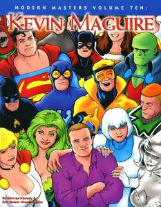 Modern Masters Vol 10 - Kevin Maguire ArtNet - DCP