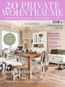 20 Private Wohnträume - Oktober-November 2020