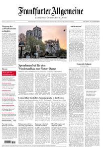 Frankfurter Allgemeine Zeitung F.A.Z. - 17. April 2019