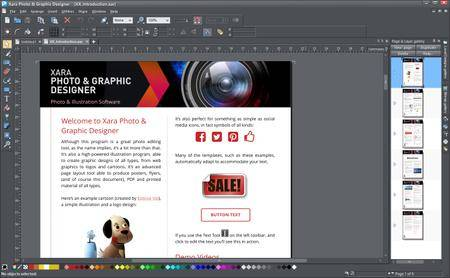 Xara Photo & Graphic Designer 15.0.0.52288 Portable