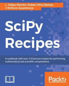 SciPy Recipes: A cookbook with over 110 proven recipes for performing mathematical and scientific computations