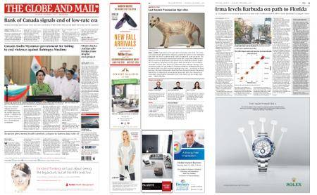 The Globe and Mail – September 07, 2017