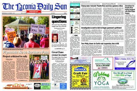 The Laconia Daily Sun – October 04, 2017