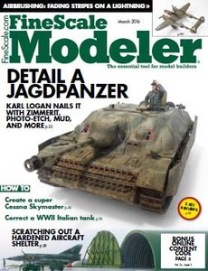 Fine Scale Modeler - March 2016