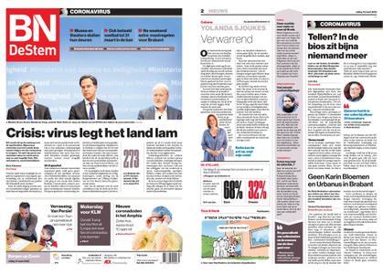 BN DeStem - Bergen op Zoom – 13 maart 2020