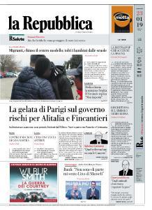 la Repubblica - 23 Gennaio 2019