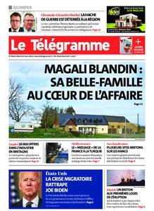 Le Télégramme Quimper – 23 mars 2021