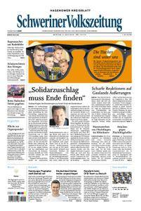 Schweriner Volkszeitung Hagenower Kreisblatt - 04. Juni 2018