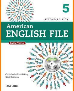 ENGLISH COURSE • American English File • Level 5 • Second Edition • STUDENT'S BOOK (2014)