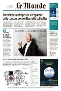 Le Monde du Mercredi 10 Janvier 2018