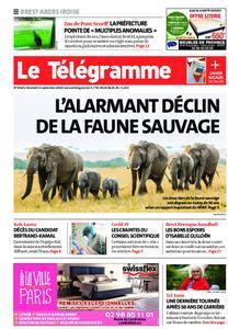Le Télégramme Brest Abers Iroise – 11 septembre 2020