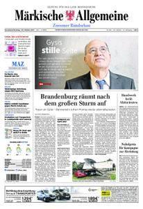 Märkische Allgemeine Zossener Rundschau - 07. Oktober 2017