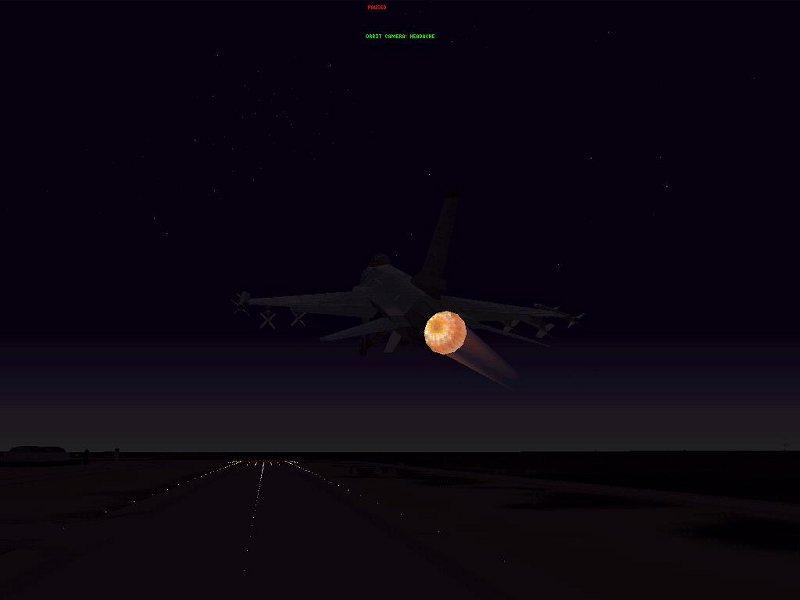 FALCON 4.0 - F-16  FLIGHT SIMULATOR