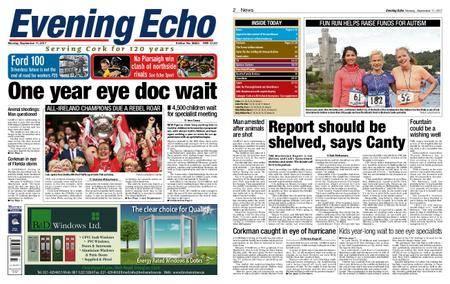 Evening Echo – September 11, 2017