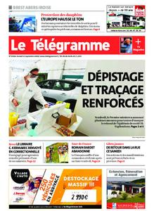 Le Télégramme Brest Abers Iroise – 12 septembre 2020