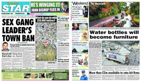 Shropshire Star Shrewsbury Edition – October 07, 2017