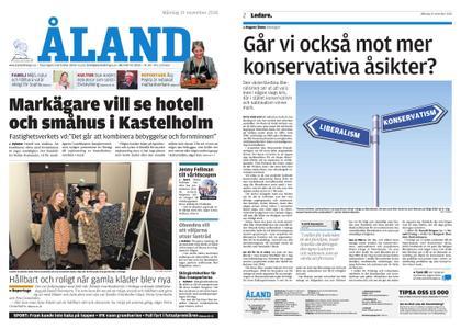 Ålandstidningen – 19 november 2018