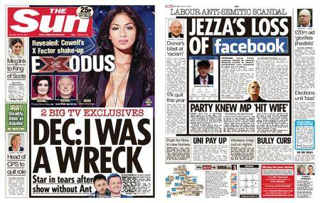 The Sun UK – 02 April 2018