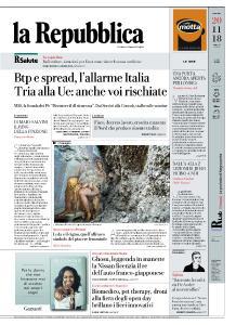 la Repubblica - 20 Novembre 2018