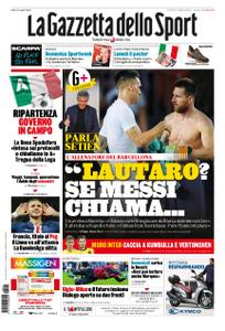 La Gazzetta dello Sport Roma – 01 maggio 2020