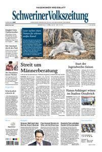 Schweriner Volkszeitung Hagenower Kreisblatt - 03. April 2018