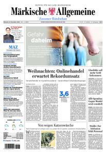 Märkische Allgemeine Zossener Rundschau - 21. November 2018