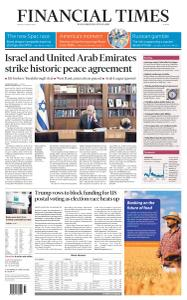 Financial Times Europe - August 14, 2020