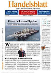 Handelsblatt - 07. Januar 2019