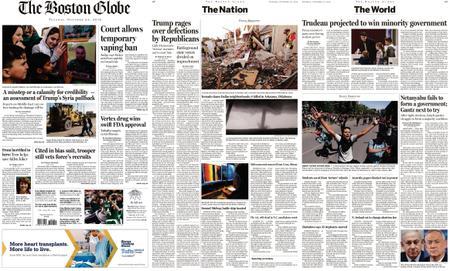 The Boston Globe – October 22, 2019