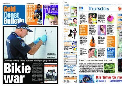 The Gold Coast Bulletin – May 13, 2010