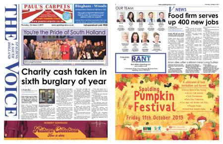 The Spalding & South Holland Voice – October 02, 2019