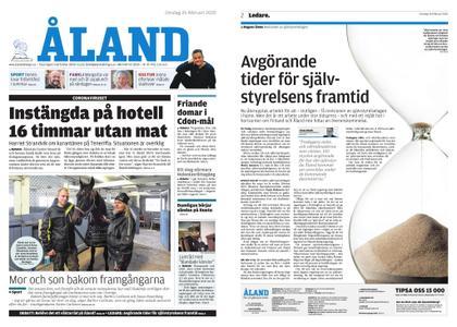 Ålandstidningen – 26 februari 2020
