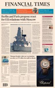 Financial Times Middle East - June 24, 2021
