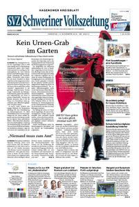 Schweriner Volkszeitung Hagenower Kreisblatt - 12. November 2019