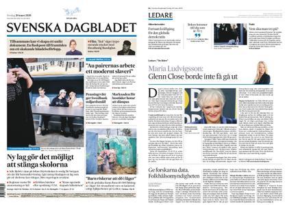 Svenska Dagbladet – 20 mars 2020