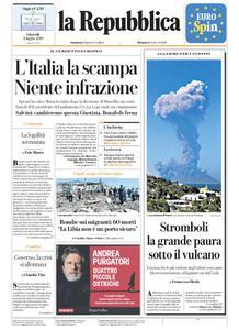 la Repubblica – 04 luglio 2019