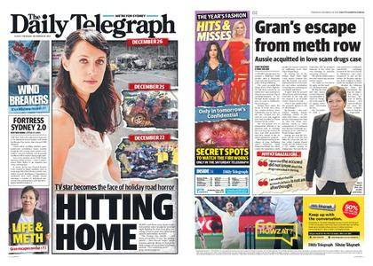 The Daily Telegraph (Sydney) – December 28, 2017