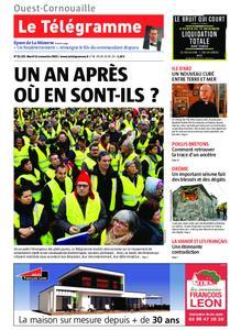 Le Télégramme Ouest Cornouaille – 12 novembre 2019