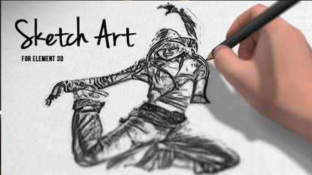 Pencil Sketch Art - Project for After Effects (VideoHive)